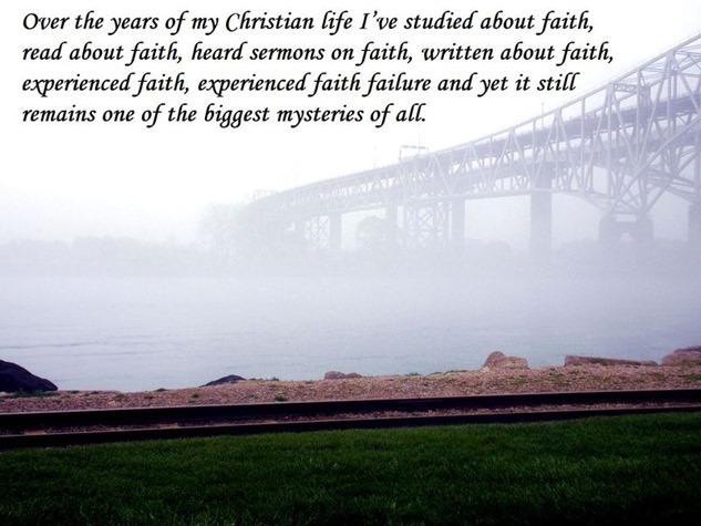 Faith-is-a-mystery